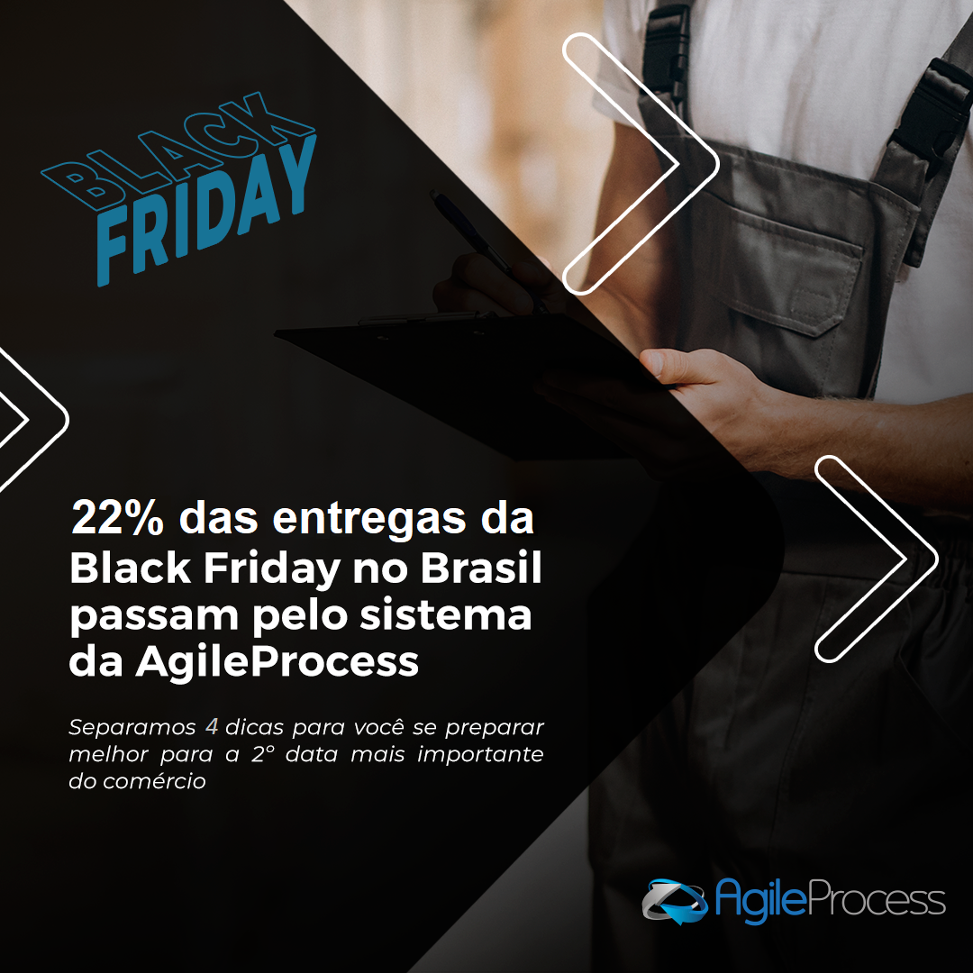 Entregas durante a Black Friday