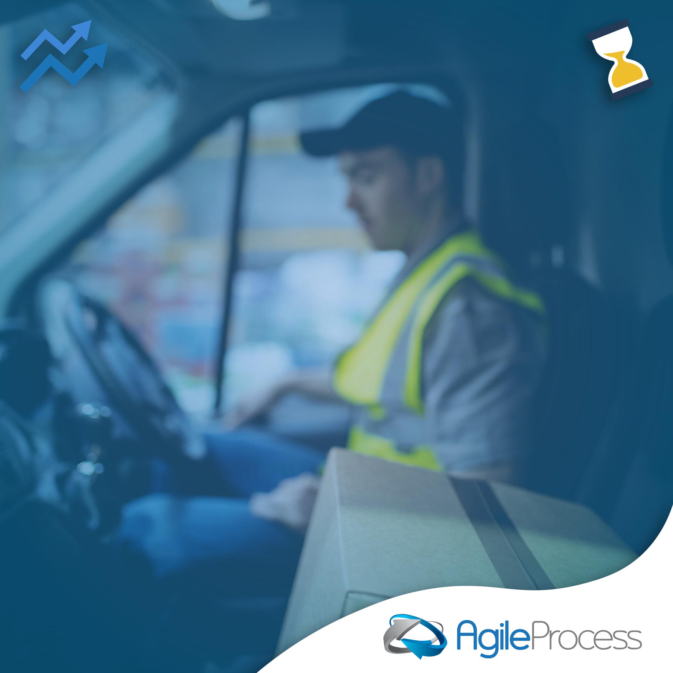produtividade dos motoristas na logística agileprocess