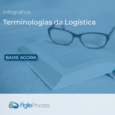 Infografico terminologias da logística
